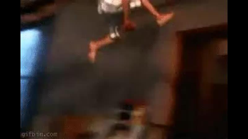 Little girl slam dunk