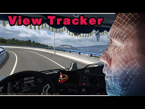 ViewTracker отслеживание поворота лица обзор настройка для ETS2 ATS