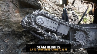 Cat® HW300 Highwall Mining System -- Product Video