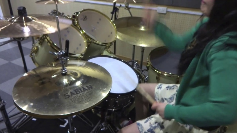 Carcass Heartwork drum cover by Fumie Abe