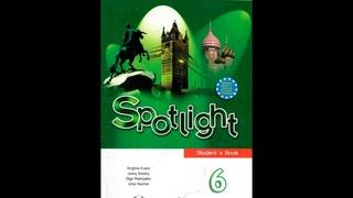 Английский язык 6 класс.  Spotlight 6, Video Student's Book