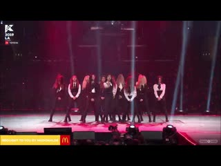 190817 loona bts' not today special stage @ kcon 2019 in la