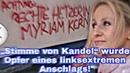 """""""Stimme von Kandel wurde Opfer eines linksextremen Anschlags Bekennerschreiben"""
