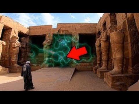 ¡In Diesem ÄGYPTISCHEN TEMPEL Geschieht Etwas Sehr Seltsames