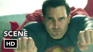 """Superman & Lois 1x13 """"Team Up"""" Scene (HD) Superman and Steel"""