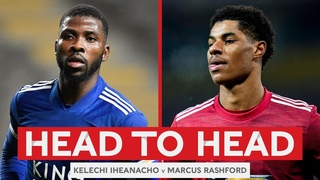 HEAD TO HEAD | Iheanacho v Rashford | Leicester City v Manchester United | Emirates FA Cup 20-21