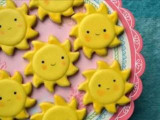 Happy Sun Sugar Cookies
