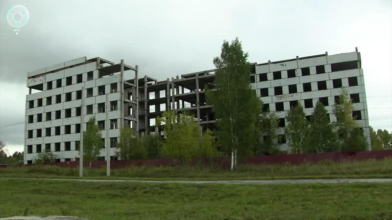 В рабочем посёлке Линёво решают судьбу недостроенной больницы