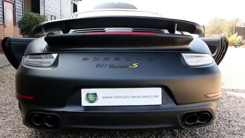 Porsche 911 Turbo S 3 8 PDK Automatic in Matte Black