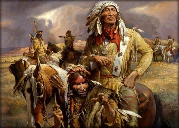 Гитлер щенок в сравнении с «покорителями Америки» Индейцы (коренное население Америки) истреблены почти подчистую всякими покорителями прерий и прочими уголовниками, которых до сих пор США и