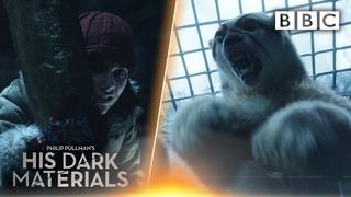Lyra witnesses BRUTAL polar bear fight! | His Dark Materials - BBC