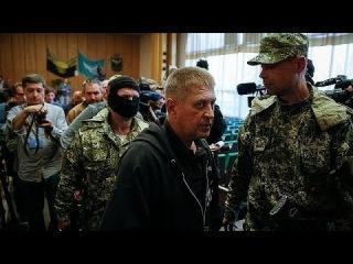 Ополченцы Славянска хотят обменять европейских военных на своих активистов
