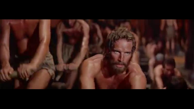 Рабы на галере Бен Гур