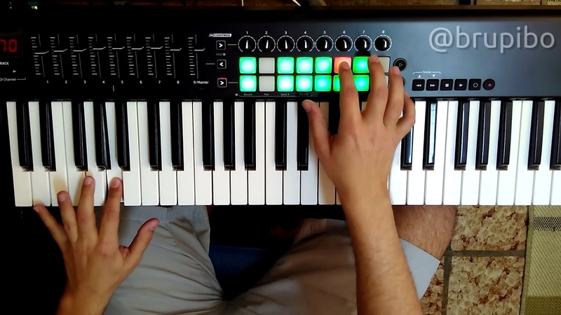 Orchestral / Pop realtime loop with Novation Launchkey 61 and Ableton Live