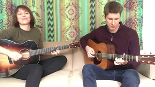 Molly and Patrick playing a Scandinavian tune learned from Lena Jonsson