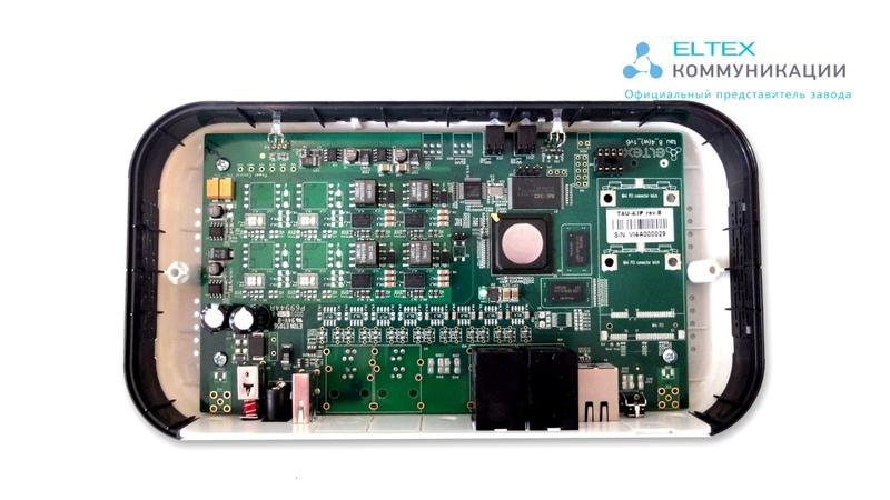 TAU VoIP шлюз от Eltex Обзор