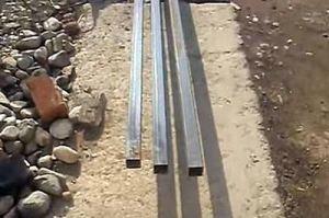 Калитка из металлопрофиля своими руками – схема + порядок выполнения работы, изображение №24