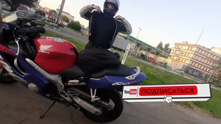 Stels Benelli 600 и Honda CBR 600 РВАНУЛИ В ЗЕЛЕНОГРАД на Картодром